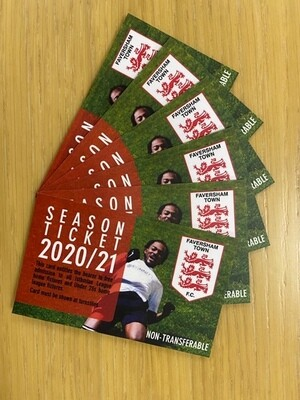 Faversham Town F.C. Season Ticket