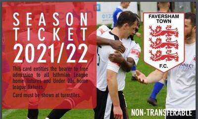 Faversham Town F.C. Season Ticket
