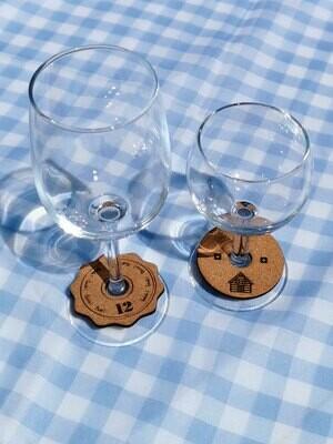 12 Marque-verres