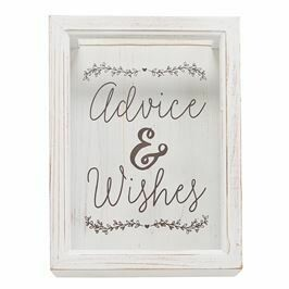 Advice Wishes Keepsake Box