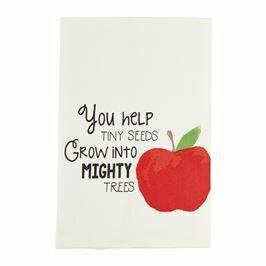 Mud Pie Apple Teacher Towel