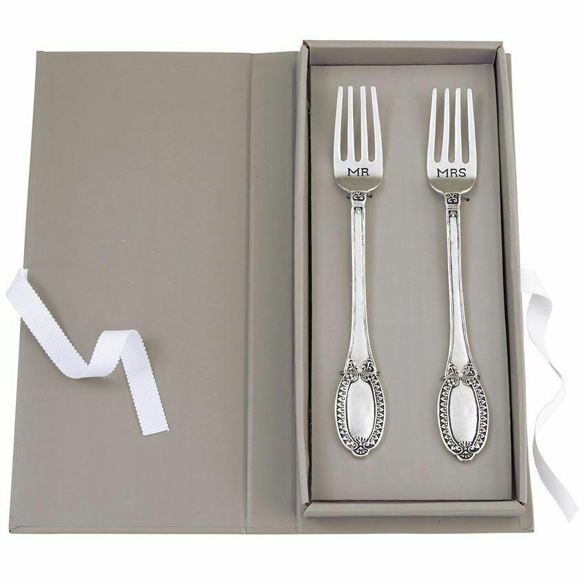 Mr & Mrs Fork Set