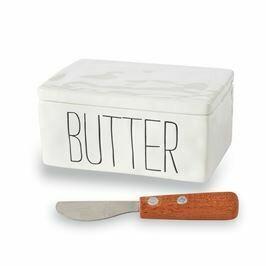 Mud Pie Bistro Butter Container