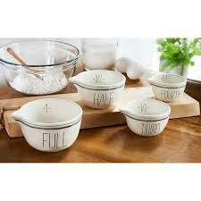 Mud Pie Bistro Measuring Bowl Set