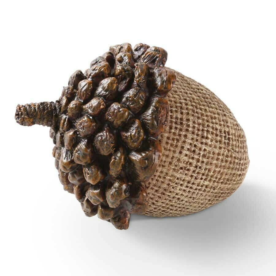 "3.5"" Acorn with Pinecone Top"