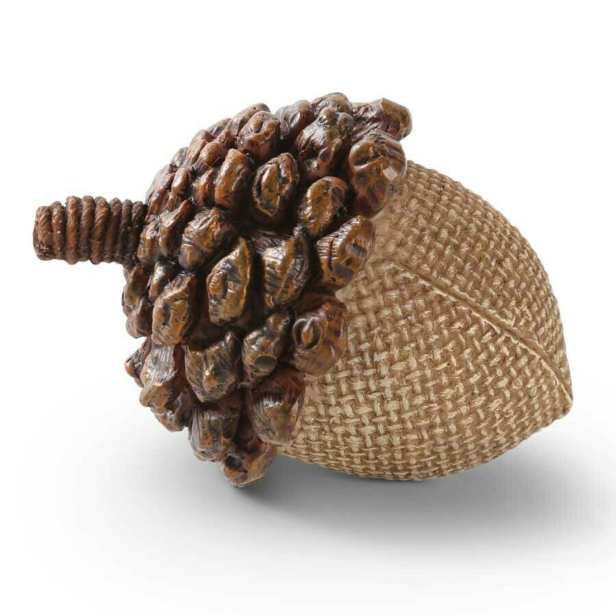 "2.5"" Acorn with Pinecone Top"