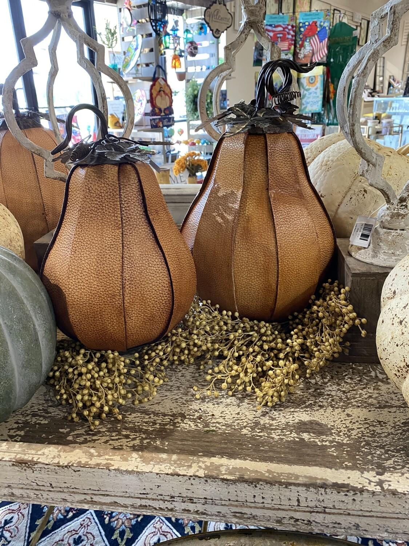 Split Leather Gourd