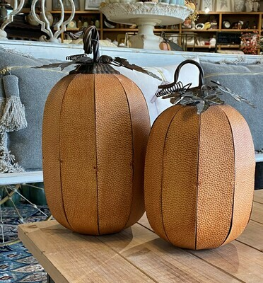 KKI Split Leather Pumpkin