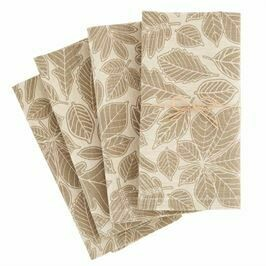 Leaf Cloth Napkin Set/4