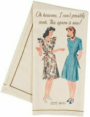 Simplicity Vintage Tea Towel