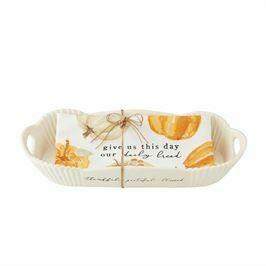 MP Pumpkin Bread Bowl/Towel Set