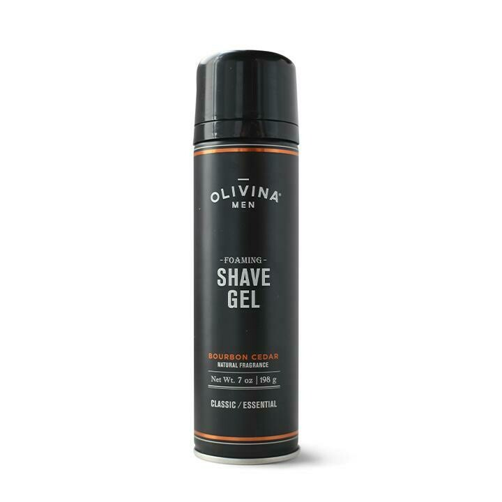 Olivina Foaming Shave Gel