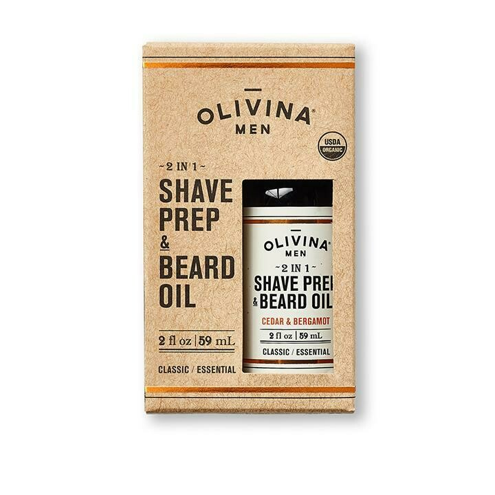Olivina 2 in 1 Beard Oil
