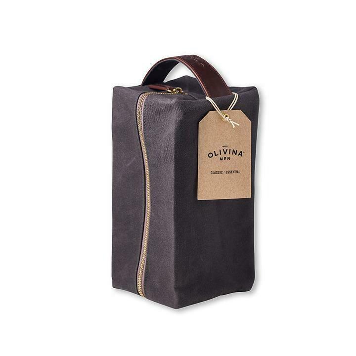 Olivina Wax Canvas Travel Bag
