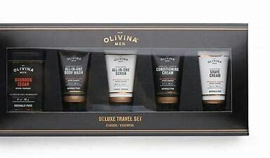 Olivina Deluxe Travel Set 5pc