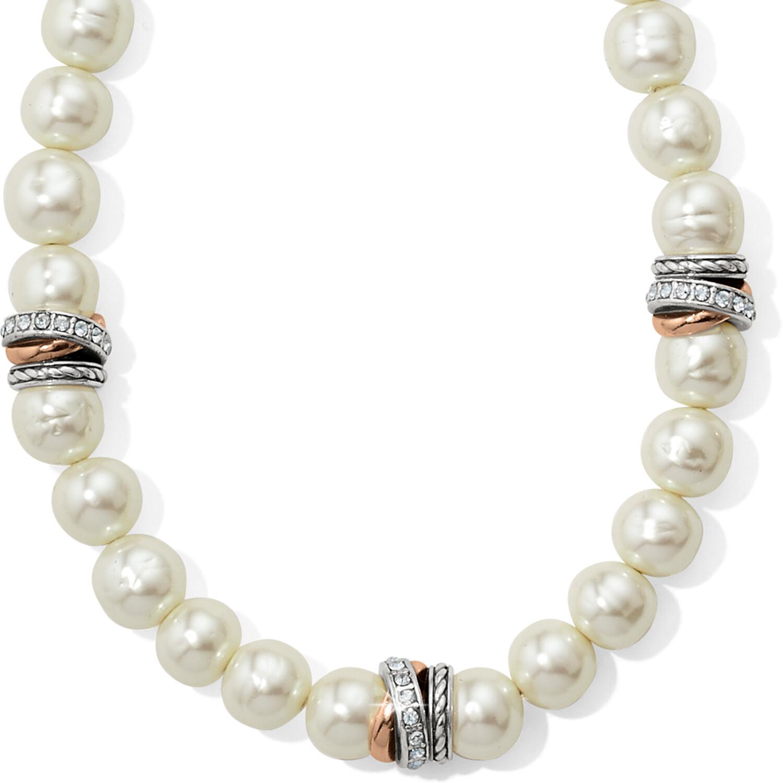 Neptune's Rings Pearrl Short Necklace