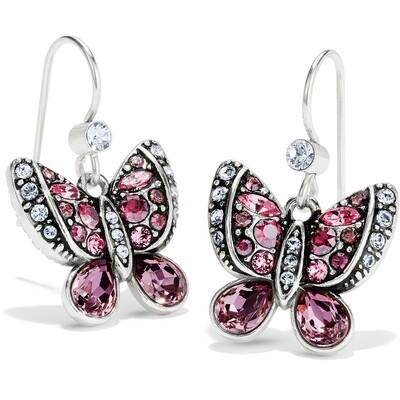 Trust Your Journey Butterflies French Wire Earrings
