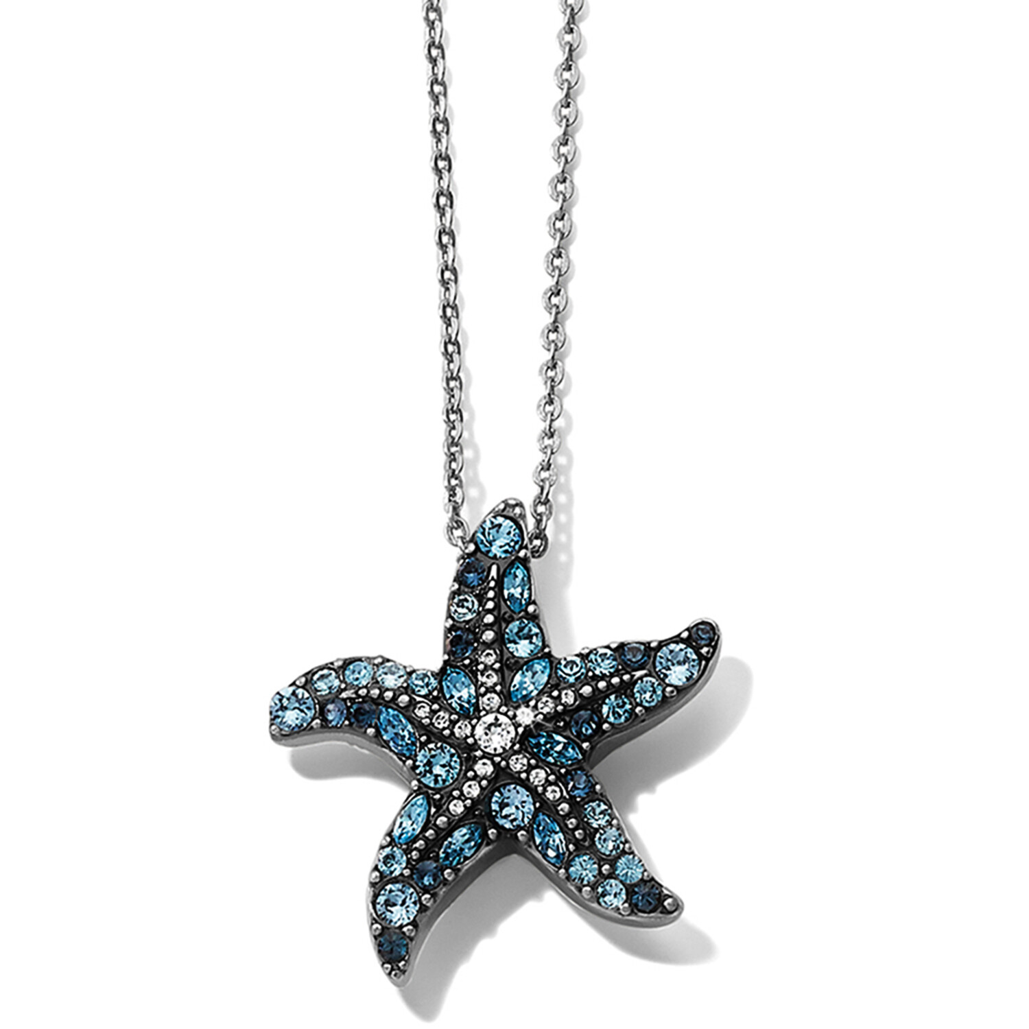 Trust Your Journey Starfish Necklace