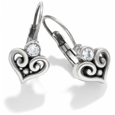Silver Stone Alcazar Heart