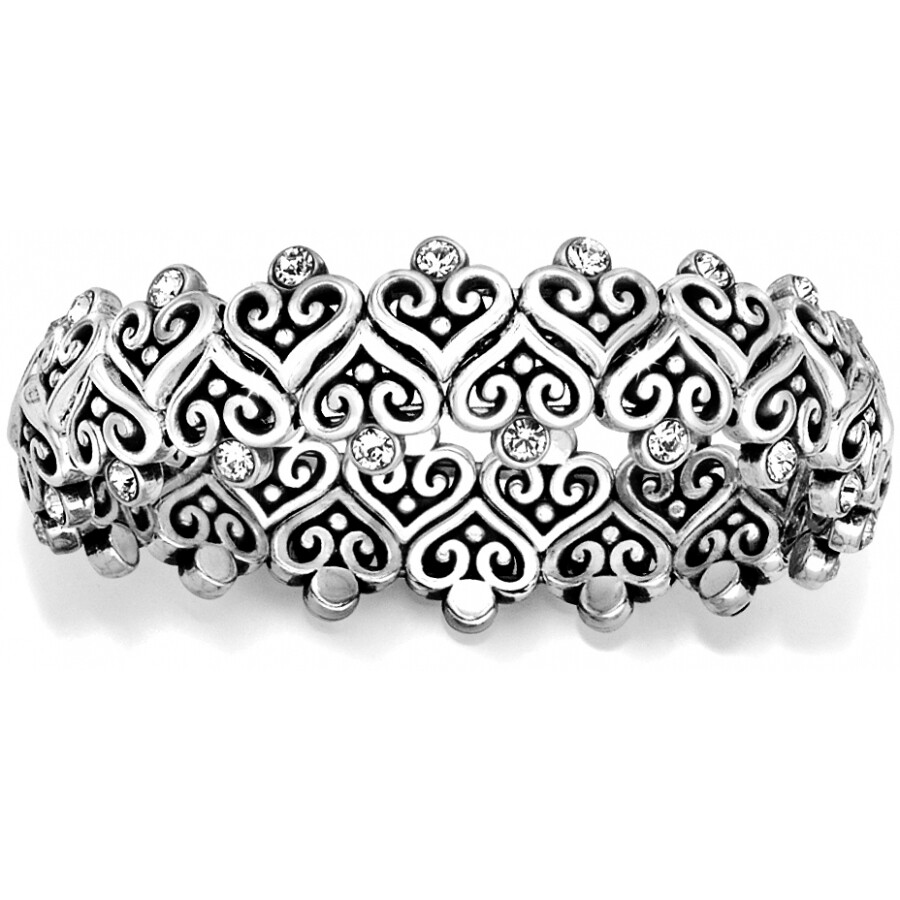 Alcazar Heart Stretch Bracelet