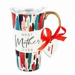 Cypress Refresh Ceramic Travel Cup with Ornament