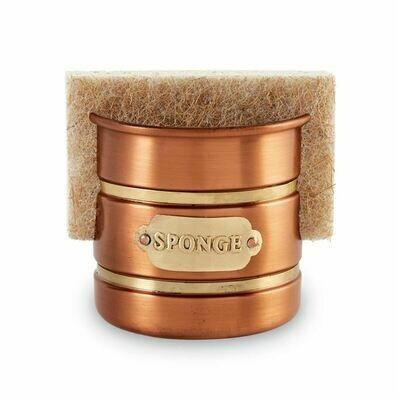 Copper & Brass Sponge Holder