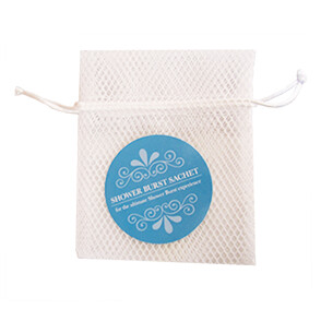 HA Shower Burst Sachet-White