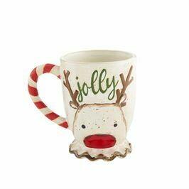 MP Reindeer Farmhouse Mug