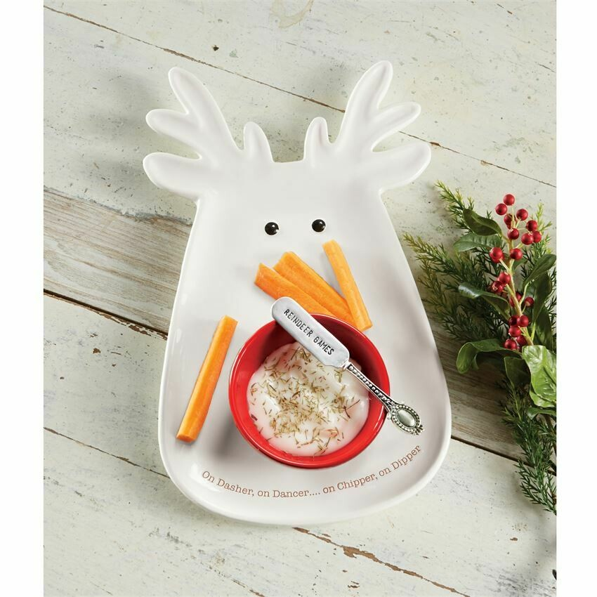 MP Reindeer Chip N Dip Set