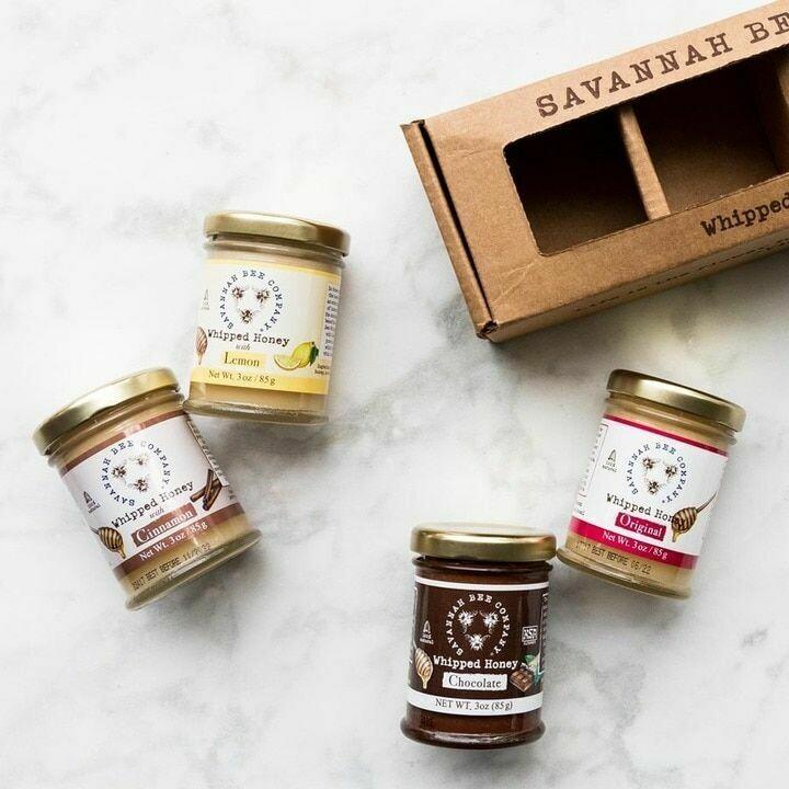Savannah Bee Company Whipped Honey 3 oz
