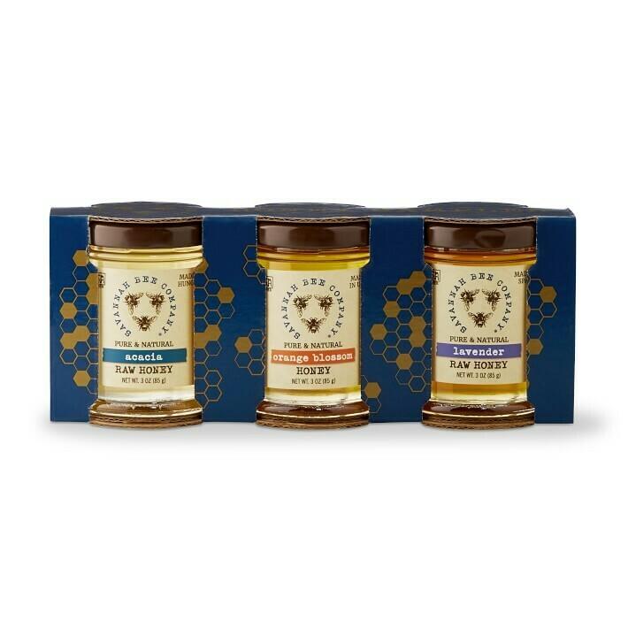 Savannah Bee Company Artisanal Honey Sampler 3oz