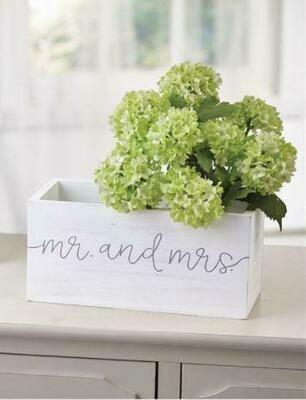 Mud Pie Mr & Mrs Box