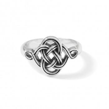 Interlok Knot Ring Size 8