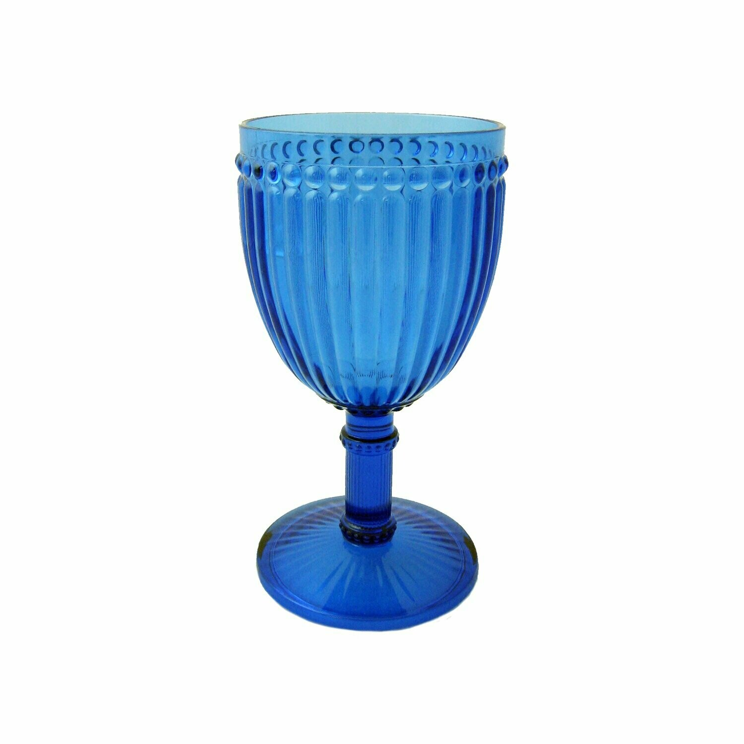 Milano Wine Glass Blue 21oz