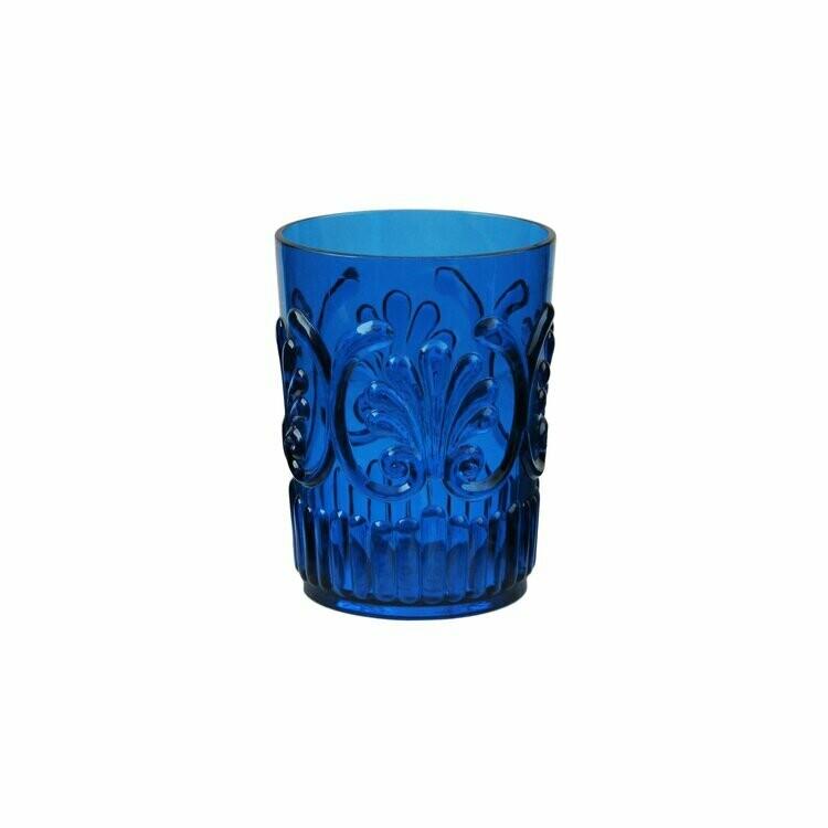Le Cadeaux Fleur Small Tumbler Blue 16oz