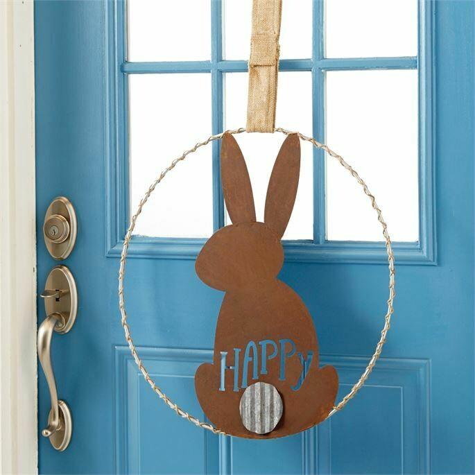 Mud Pie Bunny Door Hanger