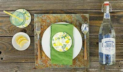 Lemonade Coaster Set of 4