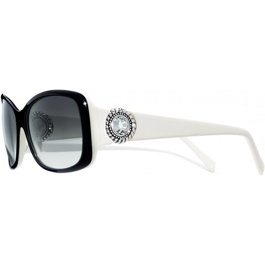 BR A11671 Twinkle Blk/Wht Sunglasses