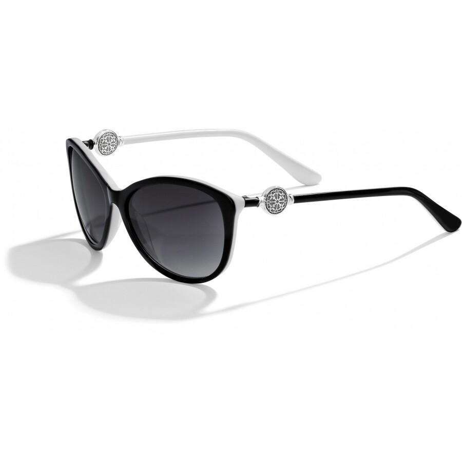 BR A12623 Ferrara BLK/WHT Sunglass