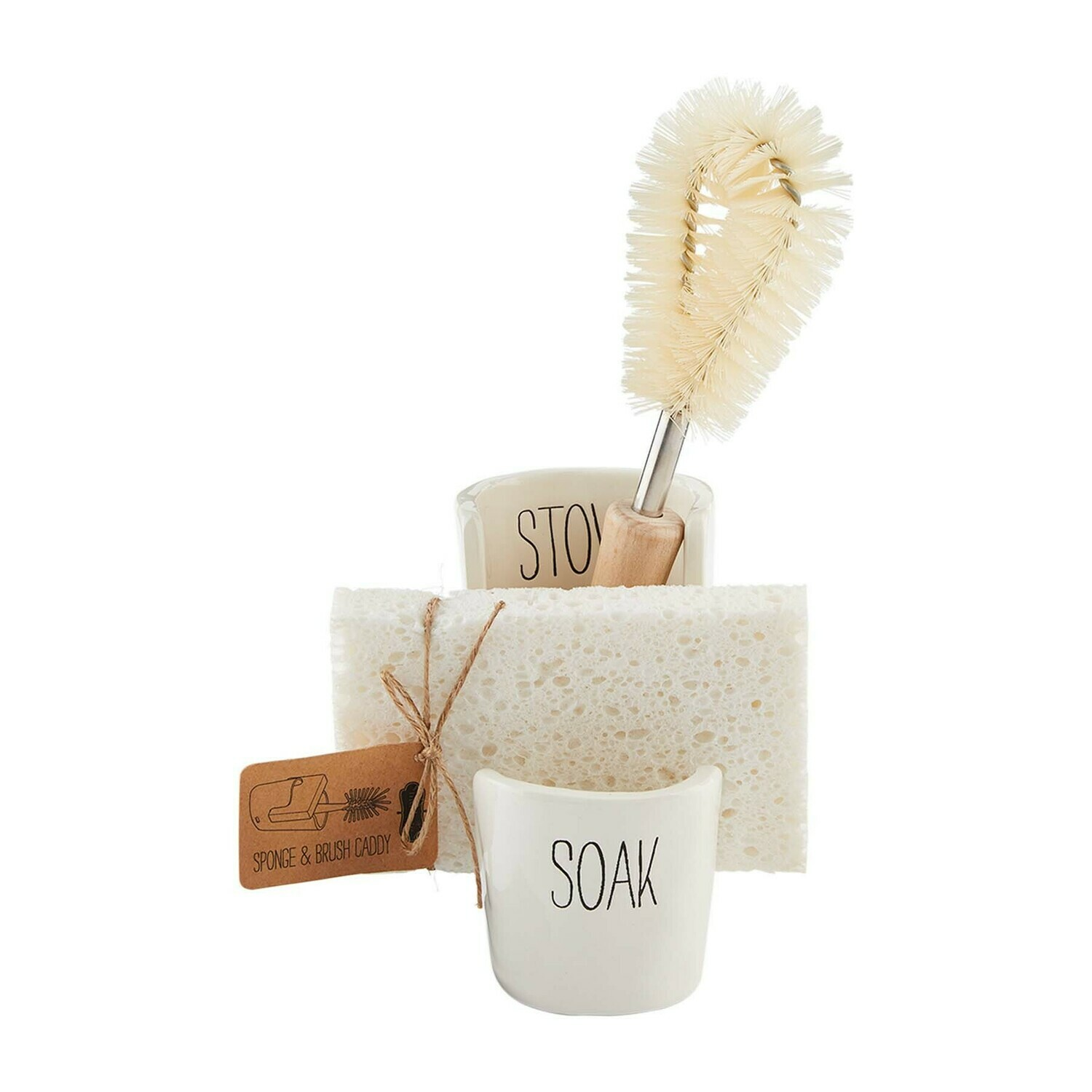 Sponge and Brush Caddy