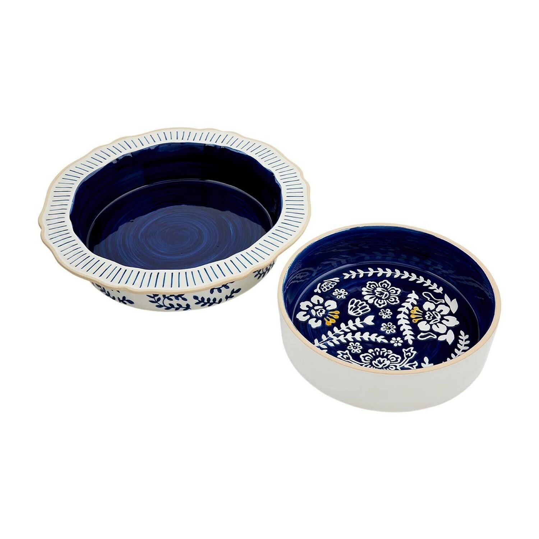 Blue Indigo Bake Set