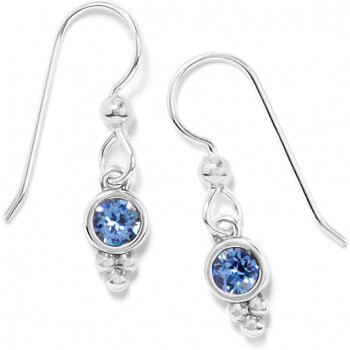 BR JA7393 Color Drops French Wire Earrings