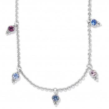 BR JM4173 Color Drops Short Necklace