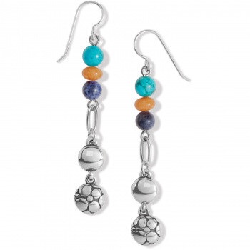 BR JA7733 Pebble Paradise French Wire Earrings