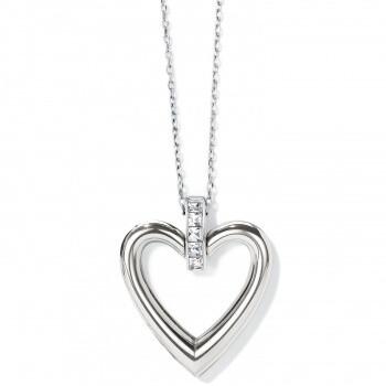 BR JM3671 Spectrum Open Heart Necklace