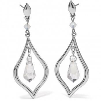 BR JA7671 Prism Lights Diamond Post Drop Earrings