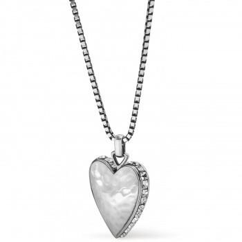 BR JM3661 Spectrum Love Clear Necklace
