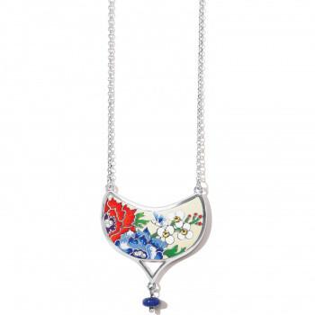 BR JM4713 Blossom Hill Drop Short Necklace