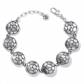 BR JF8230 Pebble Round Link Bracelet