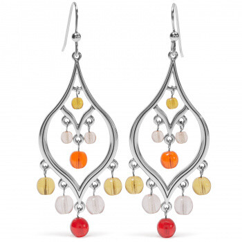 BR JA7703 Prism Lights Fire French Wire Earrings